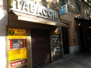 Tabaccaio in Rome - the place to by cigarettes and transport tickets