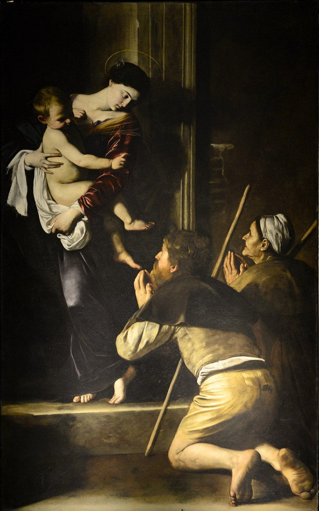 Madonna of the Pilgrims by Caravaggio, Rome Vacation Tips