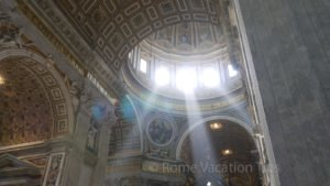 The difference between St. Peter's Basilica, the Sistine Chapel, and the Vatican