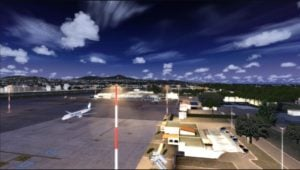 Ciampino Airport at night - Rome Vacation Tips