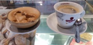 Crema, a whipped concoction of sugar and coffee oil, is used to sweeten coffee in some bars in Rome. Photo by Rome Vacation Tips
