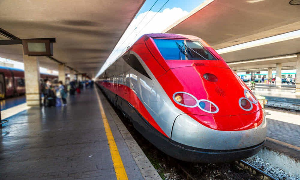 How do I book train tickets around Italy?