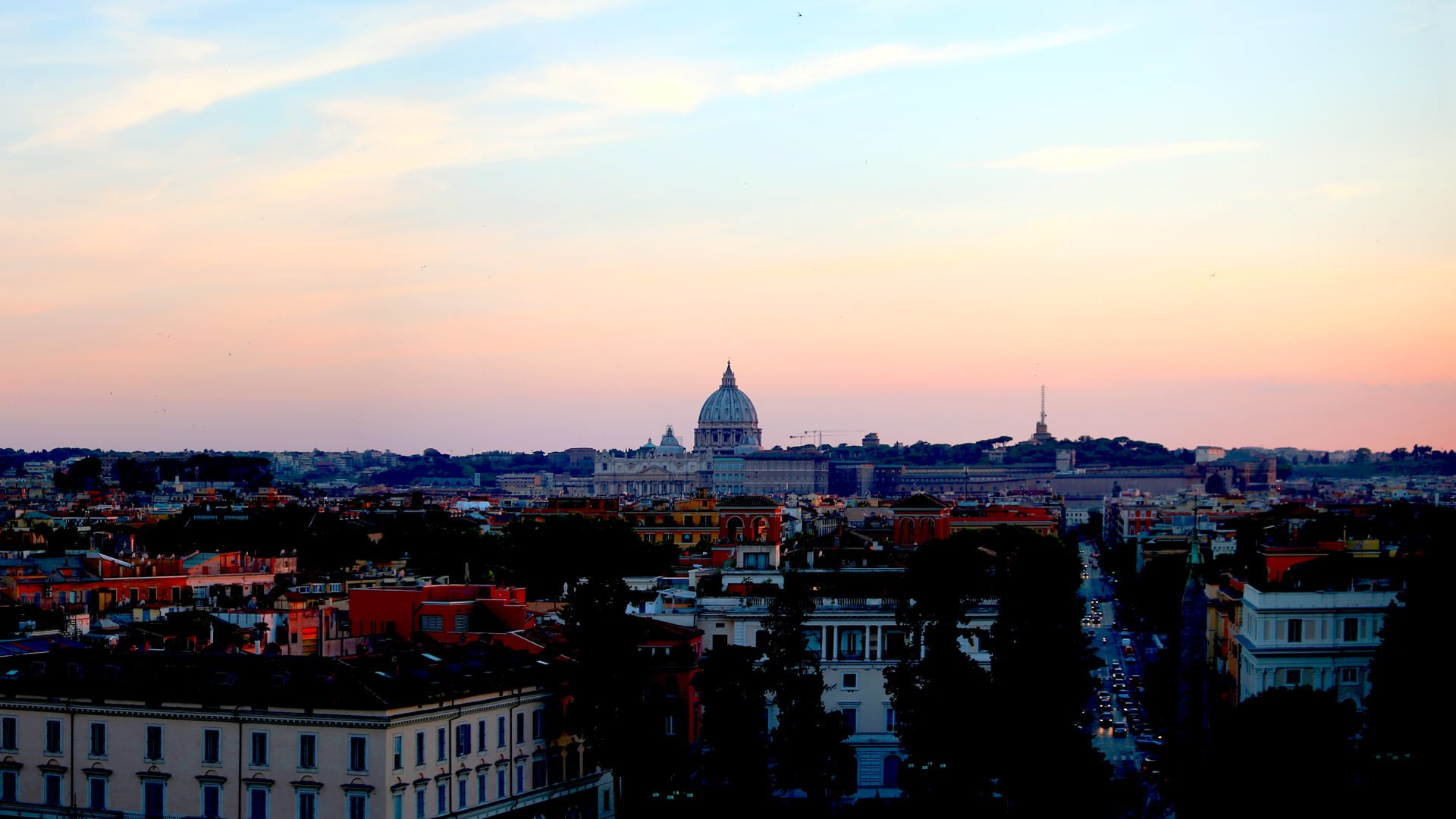 Where are the best views of Rome?