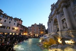 Overtourism at the Trevi Fountain - Rome Vacation Tips