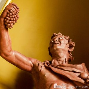 Statue of Bacchus in the Vatican Museums