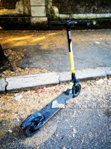 Bird electric scooter - Rome Vacation Tips