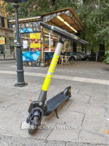 Link electric scooter - Rome Vacation Tips