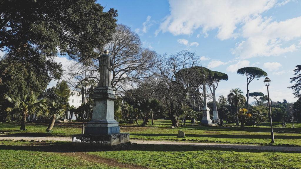 Villa Torlonia's diverse features