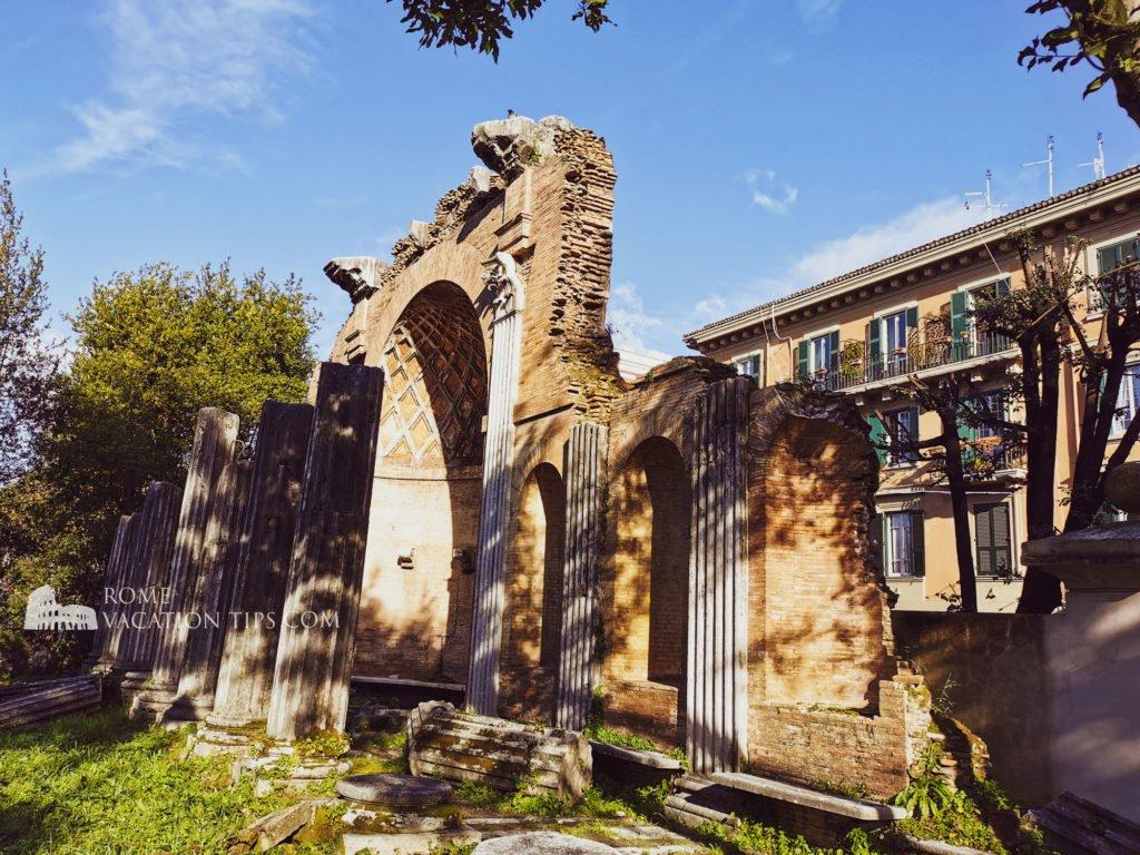 Fake ruins at Villa Torlonia, Rome