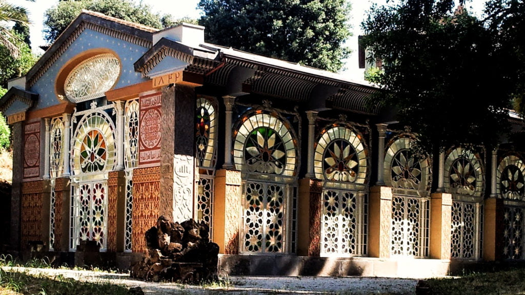 Moorish Greenhouse Villa Torlonia