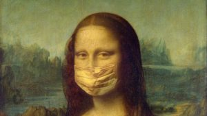 Mona Lisa in a mask: how to get a Covid-19 test in Rome