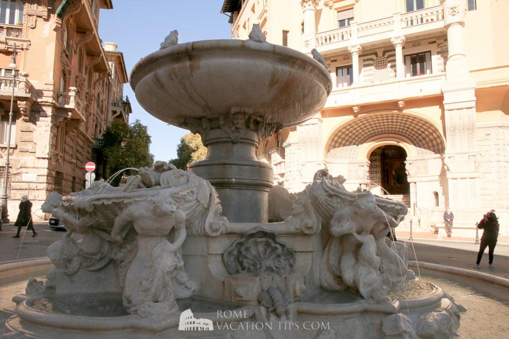The Fountain of the Frogs, quartiere Coppedè, Rome
